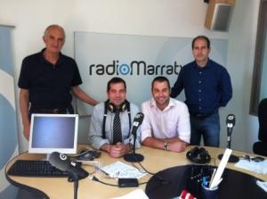 Toni Tugores, Miguel Ángel Luque, Luis García Langa y Pau A. Monserrat