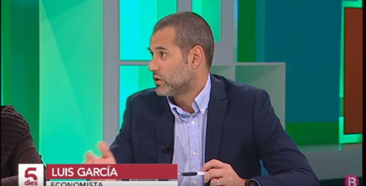 Luis García Langa en IB3 Televisió