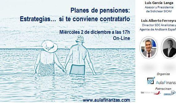 Webinar planes de pensiones